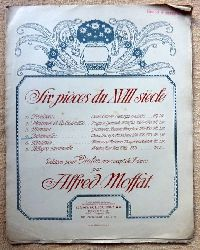 Moffat, Alfred  Six pieces du XVIII siecle No. 4: Intermedio (Jean-Joseph Mondonville (1715-1773) (pour Violon avec accpt de Piano)