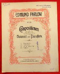 Parlow, Edmund  Compositionen für Violoncell und Pianoforte Op. 93 No. 2 Romanze