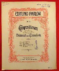 Parlow, Edmund  Compositionen für Violoncell und Pianoforte Op. 93 No. 3 Schlummerliedchen