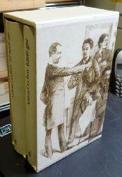 Tschechow, Anton - Cechov, Anton Pavlov:  Frühe Erzählungen in zwei Bänden 1880-1887 (Er und Sie; Ende gut)  1. Auflage  2 Bände