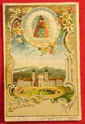 Ansichtskarte AK Gruß aus Einsiedeln (Farblitho)