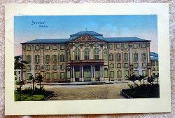Ansichtskarte AK Bruchsal. Schloss