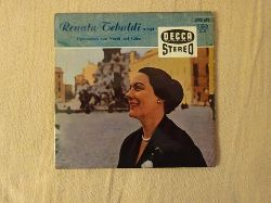 Tebaldi, Renata  Renata Tebaldi singt Opernarien von Verdi und Cilea (Single 45 U/min.)