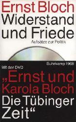 Bloch, Ernst  Widerstand und Friede (Aufsätze zur Politik)