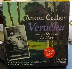 Cechov, Anton und Otto Sander  Verocka: Geschichten von der Liebe (Diogenes Hörbuch - Sammler Edition) [Hörbuch, 4 CDs)