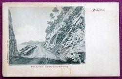Ansichtskarte AK Portofino. Strada Fra S. Margherita E Portofino