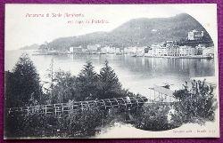 Ansichtskarte AK Portofino. Panorama di Santa Margherita col capo di Portofino