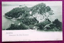 Ansichtskarte AK Portofino. Promontorio Da Villa Carnarvon