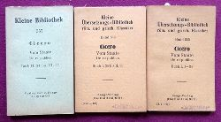 Cicero  Vom Staate (De re publica) (Buch I, 1-34 + Buch I 35 bis II 33 + Buch II 34 bis III 35)