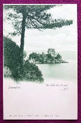 Ansichtskarte AK Portofino. Castello Di Paragi