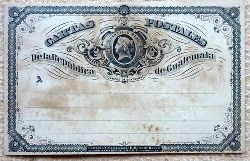 "Ansichtskarte AK Ganzsache ""Cartas Postales de la Republica Guatemala"" (Cuartillo Real)"