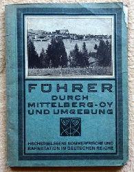 Herb, A.  Führer durch Mittelberg-Oy und Umgebung (Neu bearb. und hg. v. Gebrüder Schall)