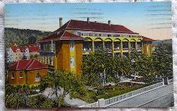 Ansichtskarte AK Schwäbisch Gmünd. Margaritenheim (hinten mit Stempel Braune Messe - Deutsche Woche Gmünd (Schwäbisch) 12.-20. Mai 1934)