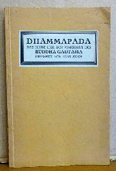 Much, Hans (Übs.)  Dhammapada (Das Hohe Lied der Wahrheit des Buddha Gautama)