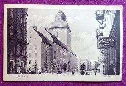 Ansichtskarte AK Stockholm. Radhuset (Werbeschild Nestor Cairo Cigarett)