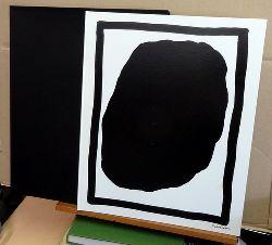 Lewitt, Sol  Black Gouaches