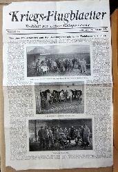 ohne Autor  Kriegs-Flugblätter. Beiblatt zur Liller Kriegszeitung. 2. Kriegsjahr, Nr. 20, 13. Februar 1915