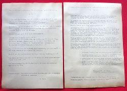 Hegar, Udo Dr.  Flugblatt der Kampagne für Abrüstung Örtlicher Ausschuß Karlsruhe gegen den Vietnamkrieg zum 4. Juli (Unabhängigkeitstag der USA)