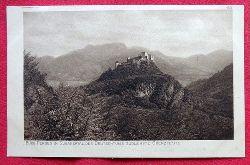 Ansichtskarte. AK Burg Persen im Suganertal, des Deutschtums südlichste Grenzfeste
