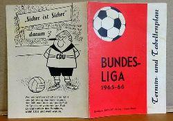 Bundesliga (Fußball) 1965-66 (Termin- und Tabellenplan)