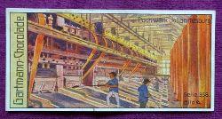 Reklamebild / Kaufmannsbild / Sammelbild Gartmann Chocolade (Serie 358 Goldgewinnung Bild 6 Pochwerk Johannesburg)