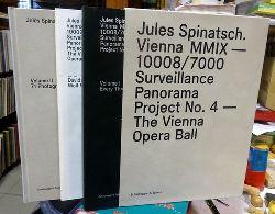 Spinatsch, Jules  Jules Spinatsch. Vienna MMIX - 10008/7000 : Surveillance Panorama Project No. 4 - Der Wiener Opernball / The Vienna Opera Ball (Every three seconds, 71 photographs) (dt. englischer Text)
