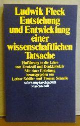 Fleck, Ludwig  Entstehung und Entwicklung einer wissenschaftlichen Tatsache (Einführung in die Lehre vom Denkstil und Denkkollektiv)