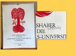 Grieshaber, HAP  HAP Grieshaber und die Eberhard-Karls-Universität Tübingen. KALENDER 1979