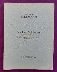 Telemann, Georg Philipp  Jauchzet, frohlocket (Weihnachtskantate für mittlere Singstimme, Violine (Flöte, Oboe) und Generalbass)