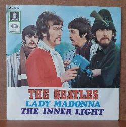 The Beatles  Lady Madonna / The Inner Light (Single-Platte)