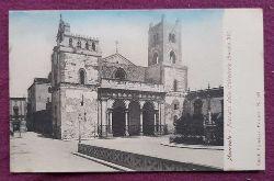 Ansichtskarte AK Monreale. Facciata della Cattedrale (Secolo XII)