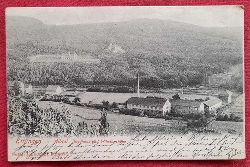 AK Ansichtskarte Ettlingen. Albtal Jagdhaus und Wilhelmshöhe mit Fabrik im Tal