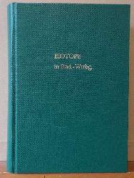 """diverse Autoren  Sammelband mit 14 Bänden der Reihe """"Biotope in Baden-Württemberg"""" (1992-2004)) (1. Binnendünen und Sandrasen // 2. Höhlen und Dolinen // 3. Wacholderheiden // 4. Magerrasen // 5. Streuwiesen und Naßwiesen // 6. Felsen und Blockhalden // 7. Bruch-, Sumpf- und Auwälder // 8. Kartierung und Schutz // 9. Moore, Sümpfe, Röhrichte und Riede // 10. Verlandungsbereiche stehender Gewässer u. Tümpel // 11. Wälder, Büsche und Staudensäume trockenw. Standorte // 12. Quellen und Quellbereiche // 13. Naturnahe Uferbereiche und Flachwasserz. des Bodensees // 14. Bäche, Flüsse und Altarme)"""