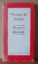 Adorno, THeodor W.  Negative Dialektik. Wissenschaftlicher Raub-Druck.