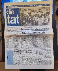 diverse  Die Tat 31. Jahrgang Nr. 41 / Oktober 1980 (Antifaschistische Wochenzeitung)