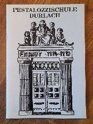 75 Jahre Pestalozzischule Durlach 1915-1990