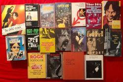Sammlung 18 Bände Rockmusik Dylan The WHO Agit-Pop Punk Metallica Baker Lennon..