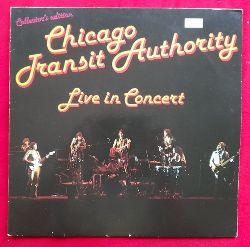 Chicago Transit Authority  Live in Concert LP 33 1/3UMin.