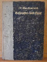 Kemmerich, Max Dr.  Gespenster und Spuk