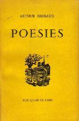 Rimbaud, Arthur,  4 Titel / 1. Poesies