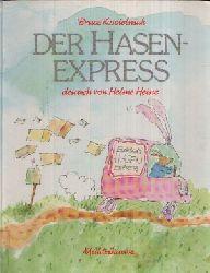 Koscielniak, Bruce:  Der Hasenexpress Middelhauve Bilderbuch