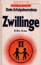Wöllzenmüller, Franz; Dein Erfolgshoroskop-Zwillinge Moewig Horoskop o.A.