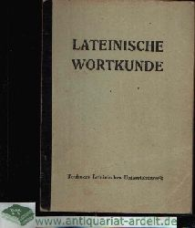Habenstein, E.: Lateinische Wortkunde mit Wortbildungslehre 2. Auflage