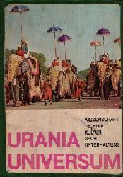 Autorengruppe: Urania-Universum Wissenschaft, Technik, Kultur, Sport, Unterhaltung