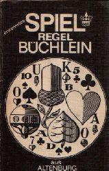 Altenburger Spielkartenfabrik (Hrsg.); Spielregelbüchlein Mit Skatordnung
