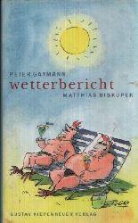 Biskupek, Matthias: Wetterbericht Mit 22 Illustrationen von Peter Gaymann 1. Auflage