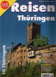 Autorenkollektiv:  Falk Reisen Thüringen