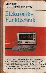 Walter, Conrad: Elektronik - Funktechnik Meyers Taschenlexikon 3. überarbeitete Auflage