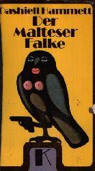 Hammett, Dashiell: Der Malteser Falke Kriminalroman 1. Auflage