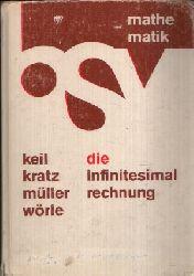Keil, Karl August, Johannes Kratz und Hans Wörle Karl Müller;  Die Infinitesimalrechnung